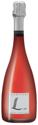 CHAMPAGNE BRUT NATURE ROSÉ L by VD